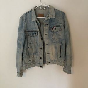 Vintage Bleach Dyed Levi Jacket